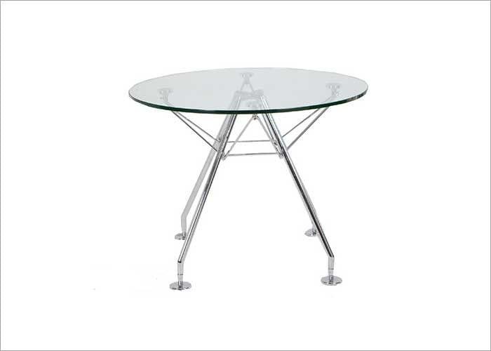 שולחן המתנה עגול לאורחים