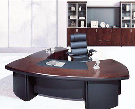 שולחן מנהלים מעוצב מעץ